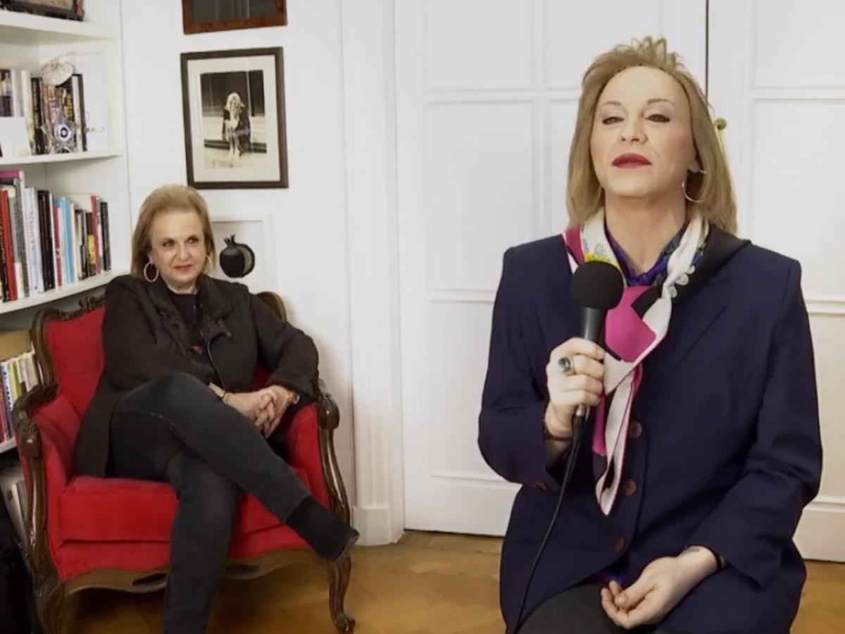 Η Ματίνα Παγώνη και ο Τάκης Ζαχαράτος συναντήθηκαν τετ α τετ – Ο απολαυστικός διάλογος και οι παρατηρήσεις