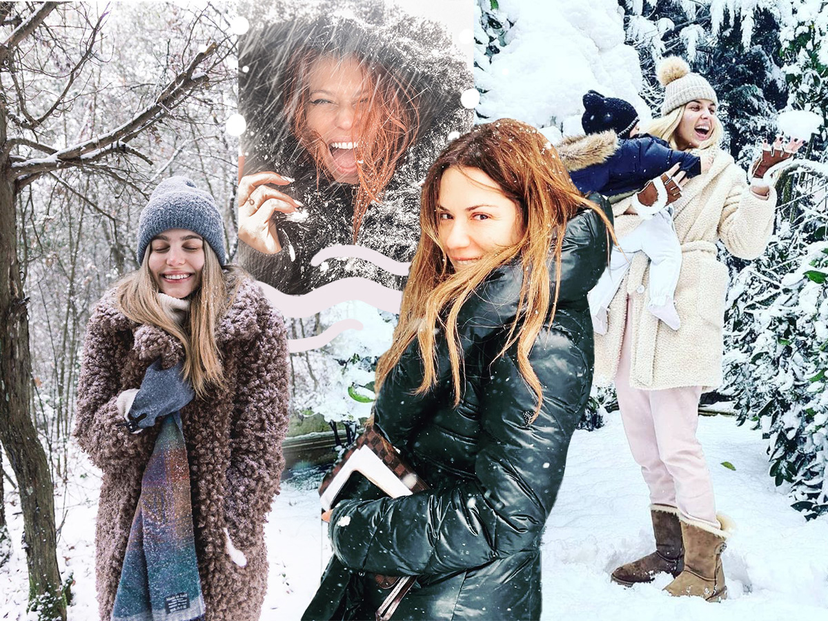 Κακοκαιρία Μήδεια: Οι Έλληνες celebrities αψήφησαν το κρύο και απόλαυσαν τα χιόνια στην Αττική – Φωτογραφίες, βίντεο