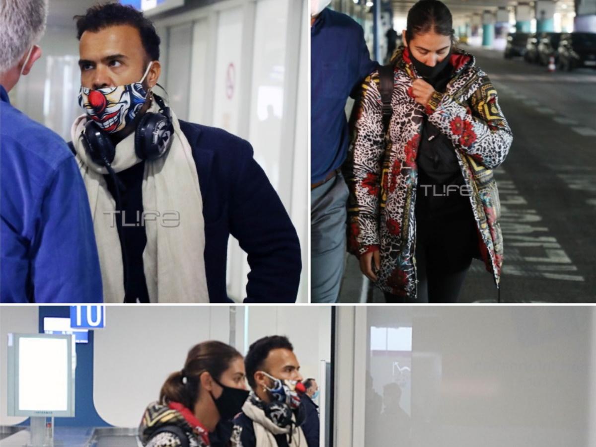 Survivor: Περικλής Κονδυλάτος και Έλενα Κρεμλίδου επέστρεψαν στην Ελλάδα – Οι πρώτες εικόνες