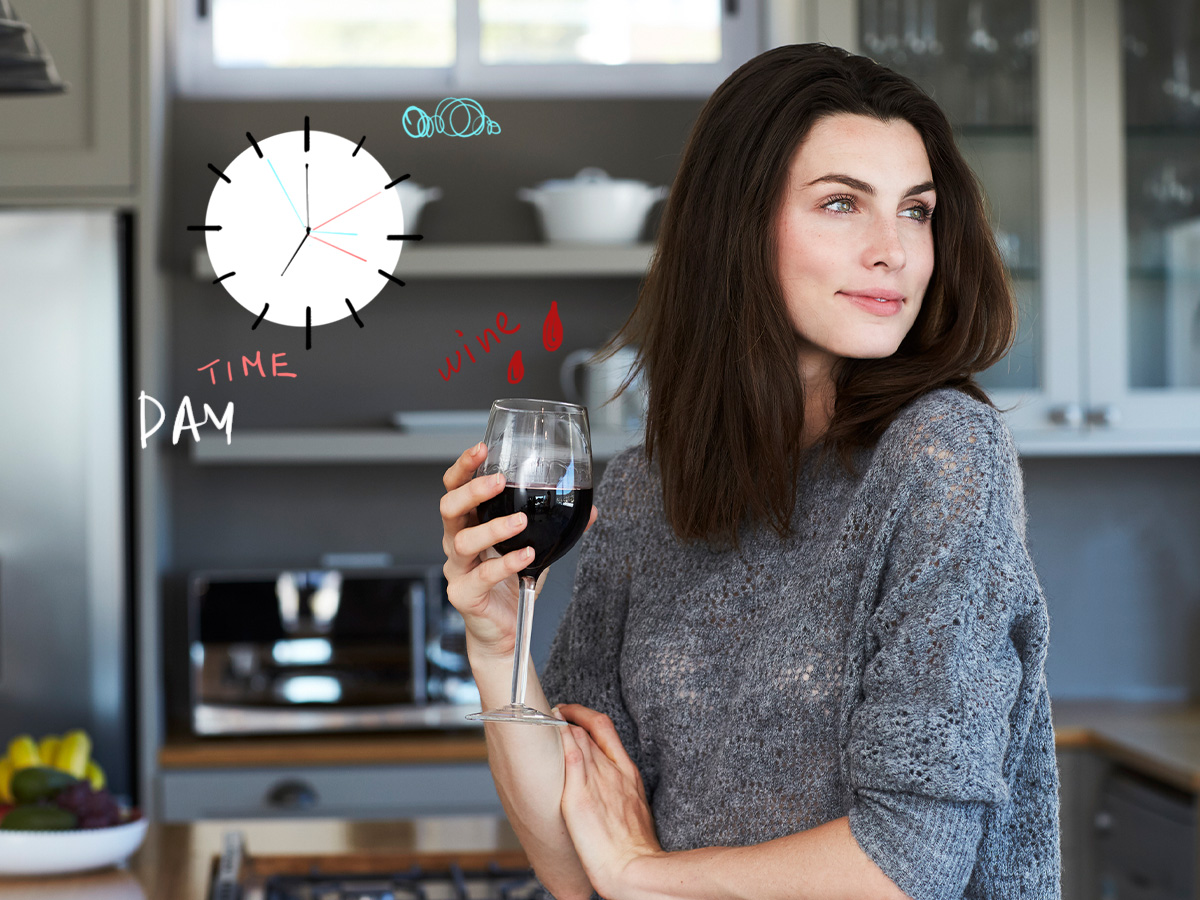 Αδυνάτισμα: Οι χειρότερες στιγμές να πιεις κρασί μέσα στην ημέρα