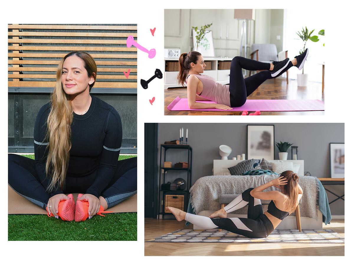 Γυμναστική στο σπίτι: 6 ασκήσεις για να γραμμώσεις τους κοιλιακούς σου και να αποκτήσεις επίπεδη κοιλιά