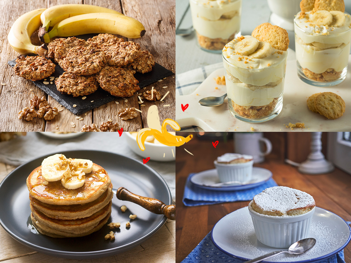 Μπανάνα: 5 light συνταγές με το φρούτο που σίγουρα έχεις στην κουζίνα σου