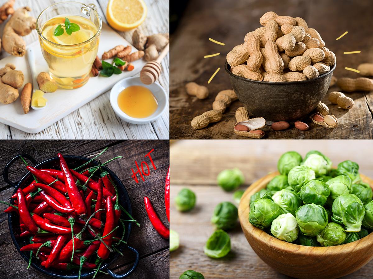Οι τροφές που θα ανεβάσουν την θερμοκρασία του σώματος και θα σε ζεστάνουν