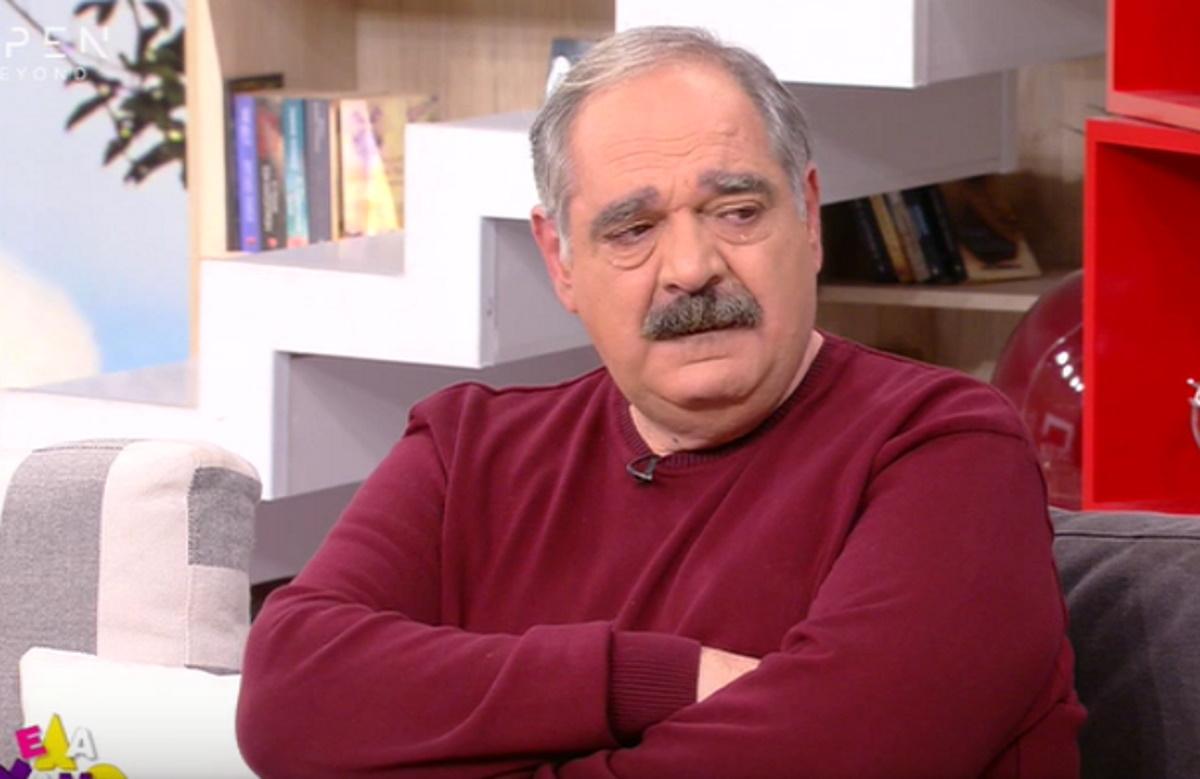 """Γιώργος Σουξές: Δάκρυσε στον αέρα του """"Έλα Χαμογέλα"""""""