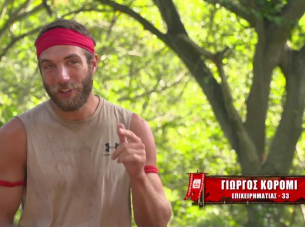 """Survivor – Γιώργος Κόρομι: """"Έγινα ρεζίλι στο Πανελλήνιο"""""""