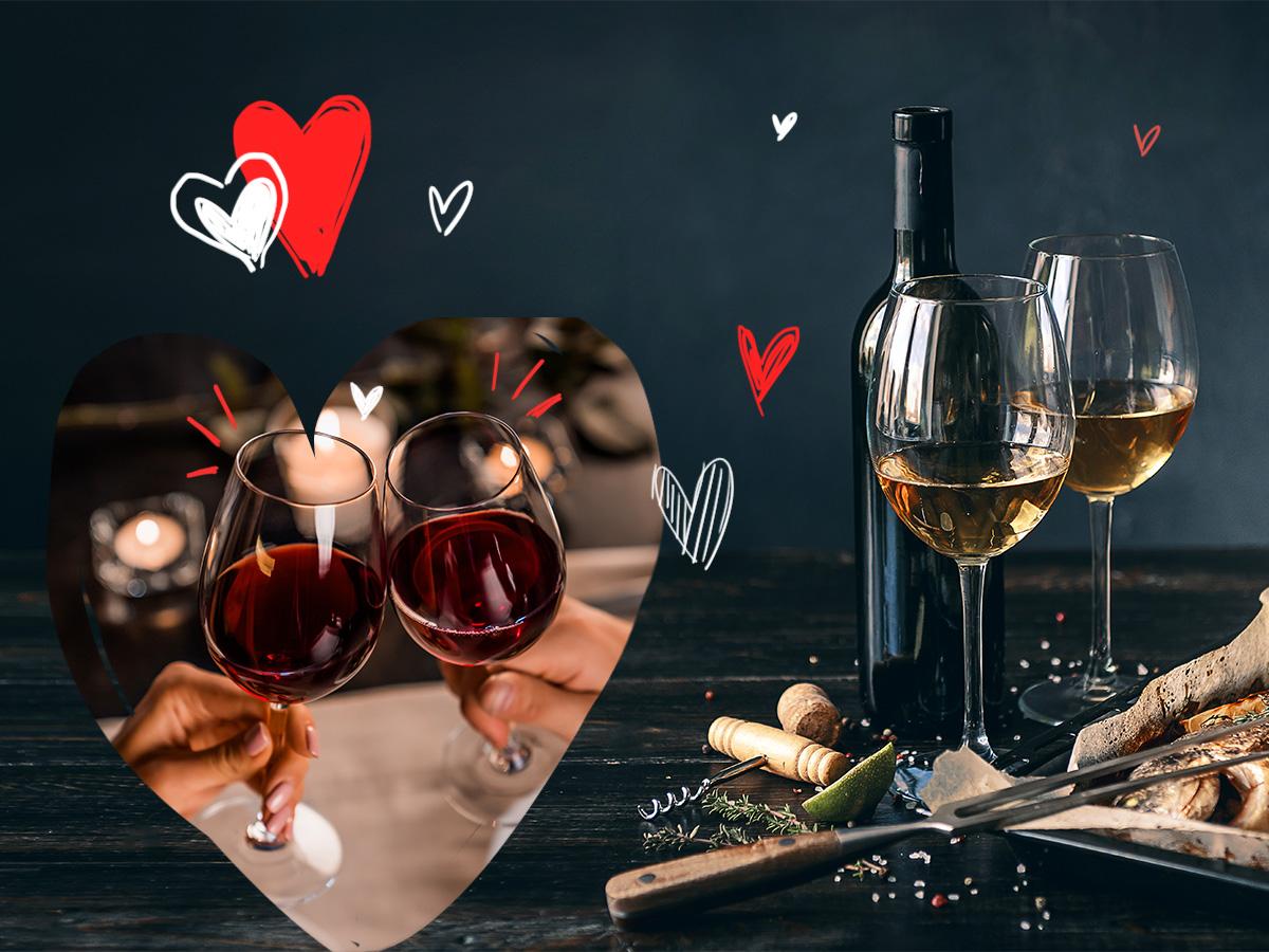 Foodpairing: Με τι κρασί να συνοδεύσεις το φαγητό σου σε ένα ρομαντικό δείπνο
