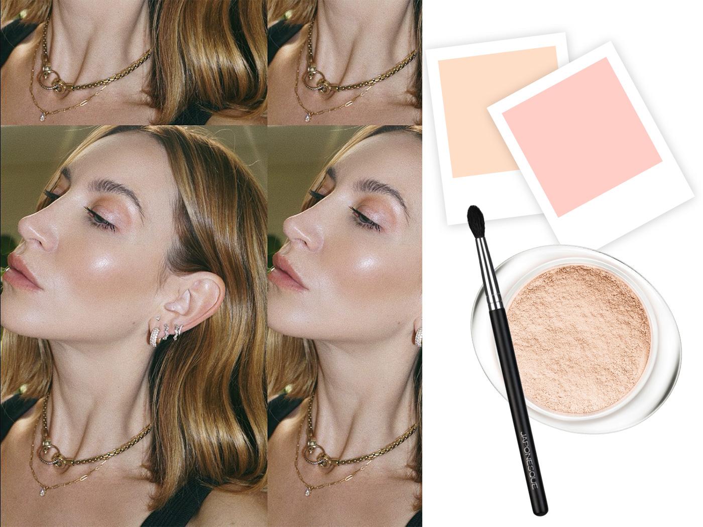 Pinpoint powdering: η makeup artist της Hailey Bieber μόλις μας έπεισε να αγοράσουμε loose powder