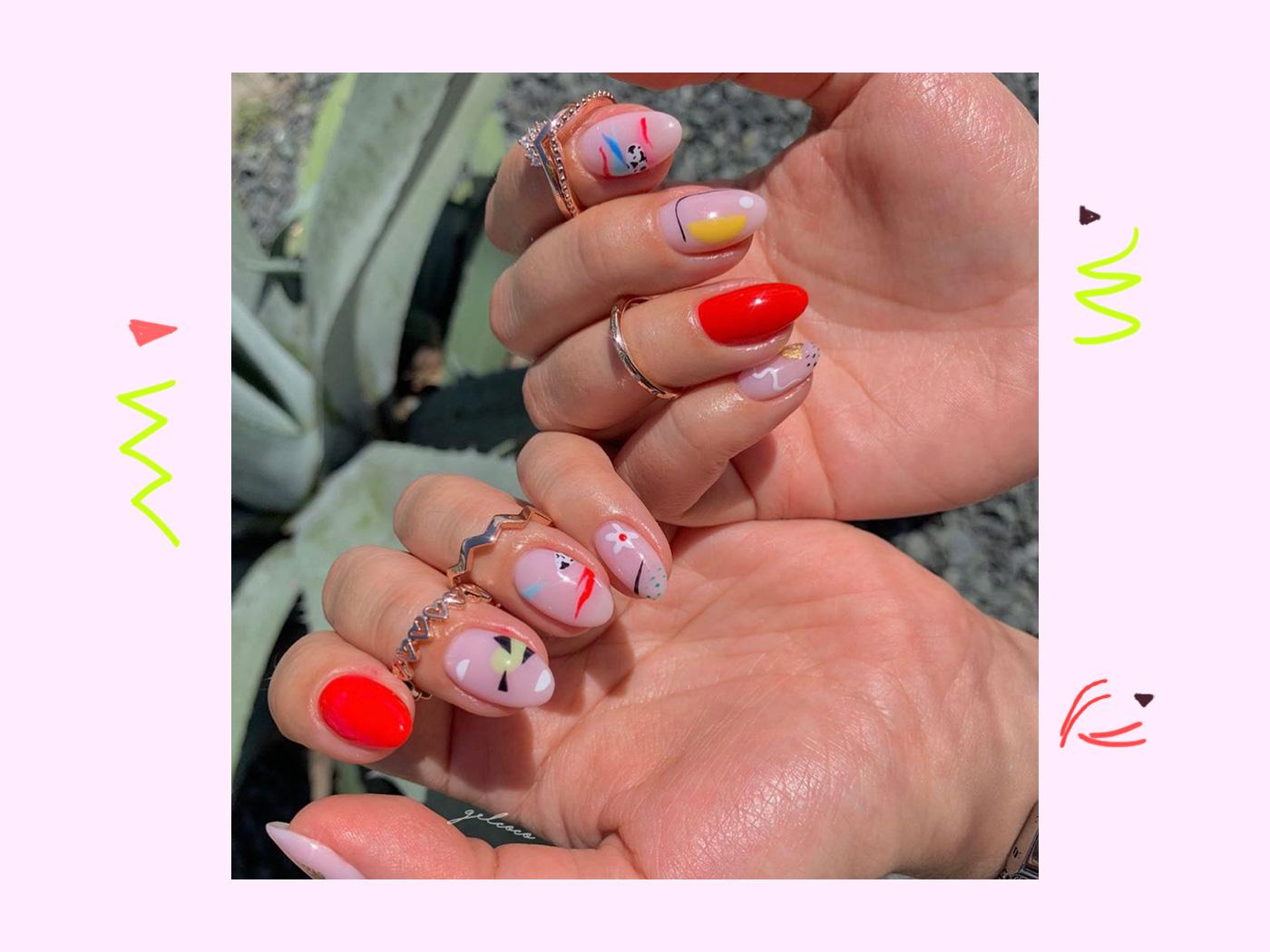 Το abstract manicure είναι το επόμενο μανικιούρ που θα κάνουμε! Πάρε ιδέες