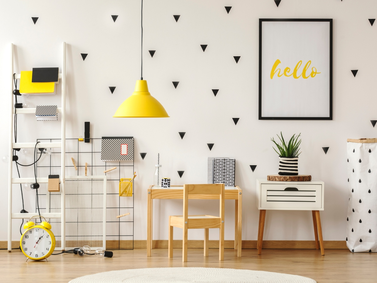 Πρόσθεσε λίγο κίτρινο στη διακόσμηση του σπιτιού σου