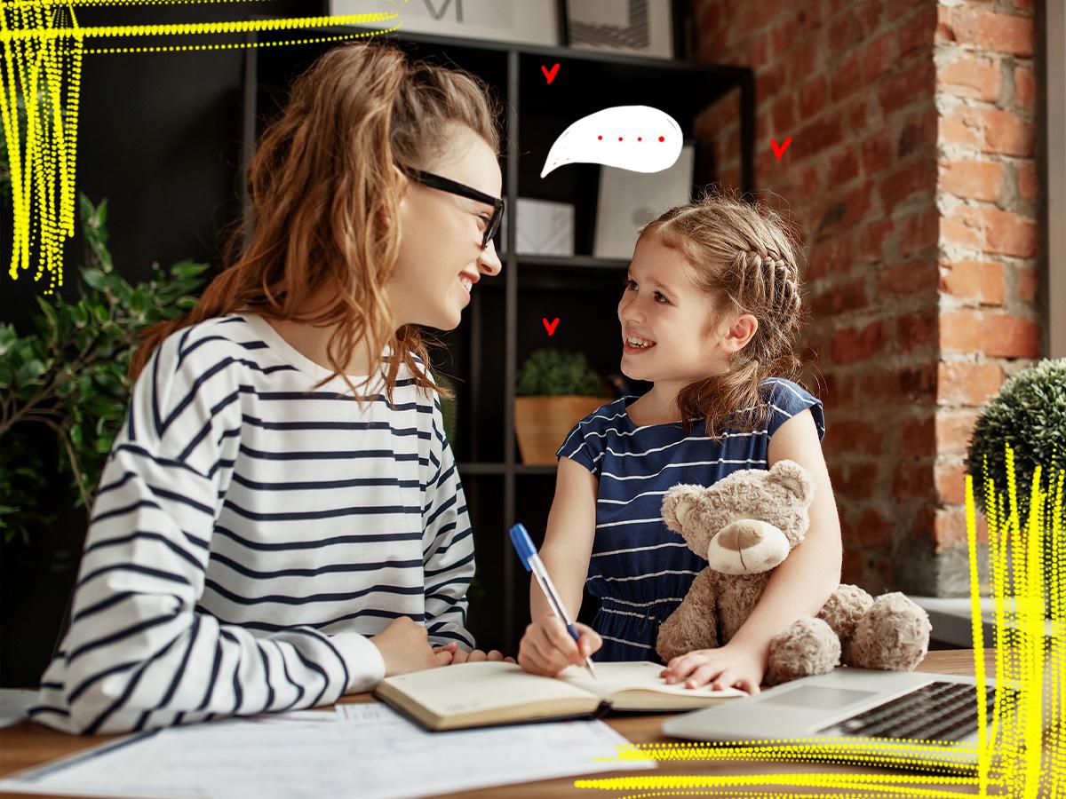 Οι φράσεις που κάθε παιδί θέλει να ακούει από τη μαμά του