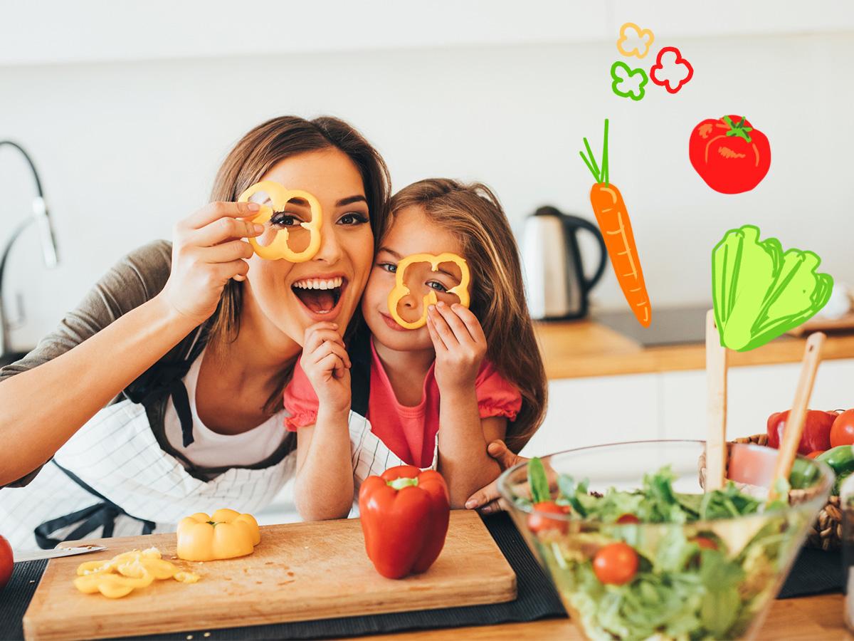 7 έξυπνοι τρόποι να προσθέσεις τα λαχανικά στη διατροφή του παιδιού σου