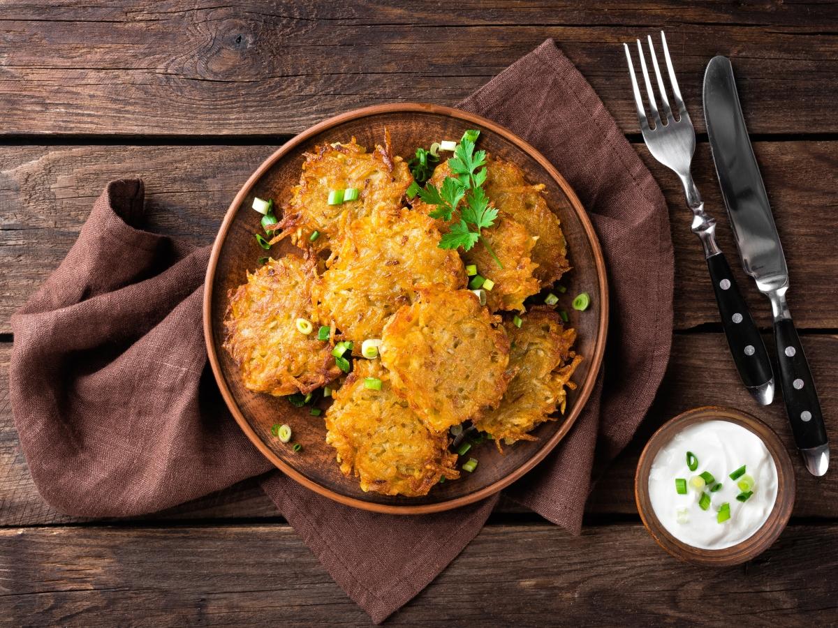 Συνταγή για τηγανίτες πατάτας