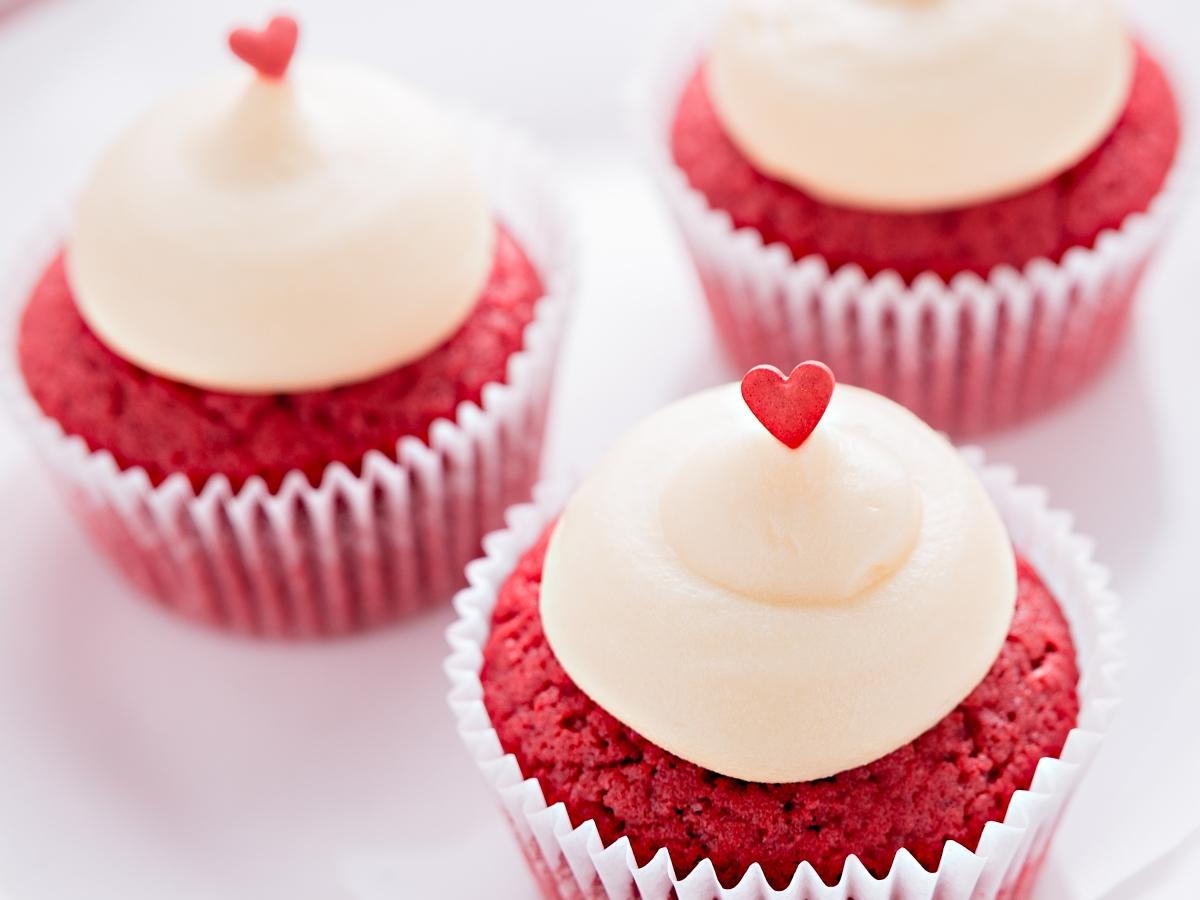 Συνταγή για Red Velvet Cupcakes
