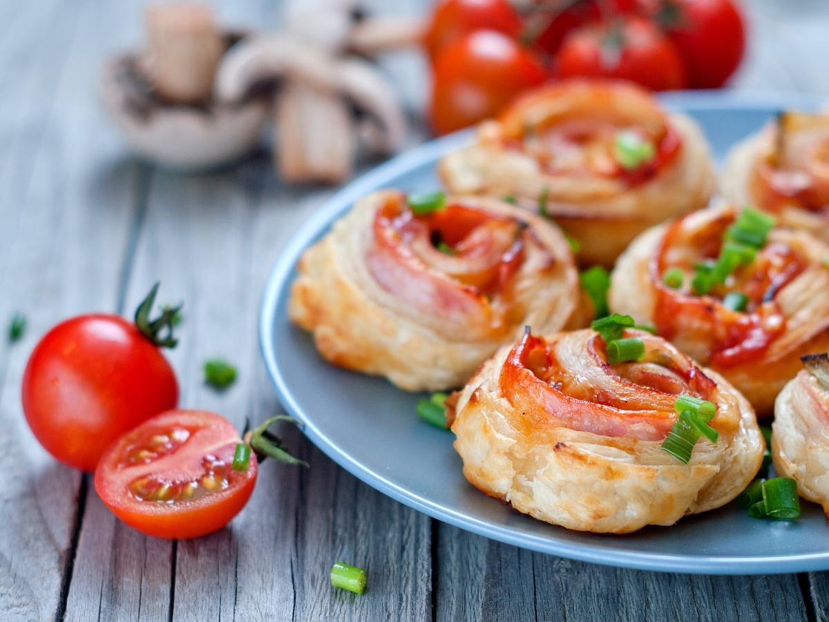 Συνταγή για ρολάκια πίτσας