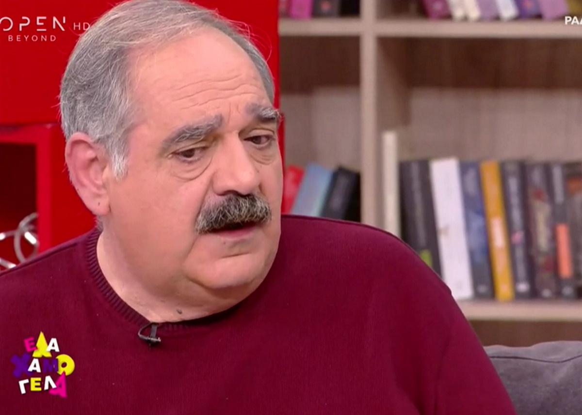"""Γιώργος Σουξές για Λιγνάδη: Έπρεπε να παραιτηθεί νωρίτερα – Όλοι ξέραμε ότι κάτι γίνεται"""""""