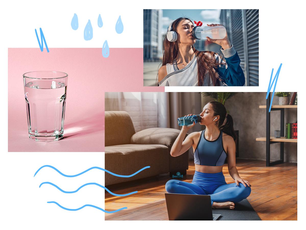 Νερό: Τα οφέλη του στο σώμα και μερικά έξυπνα τρικς για να μην ξεχνάς να πίνεις
