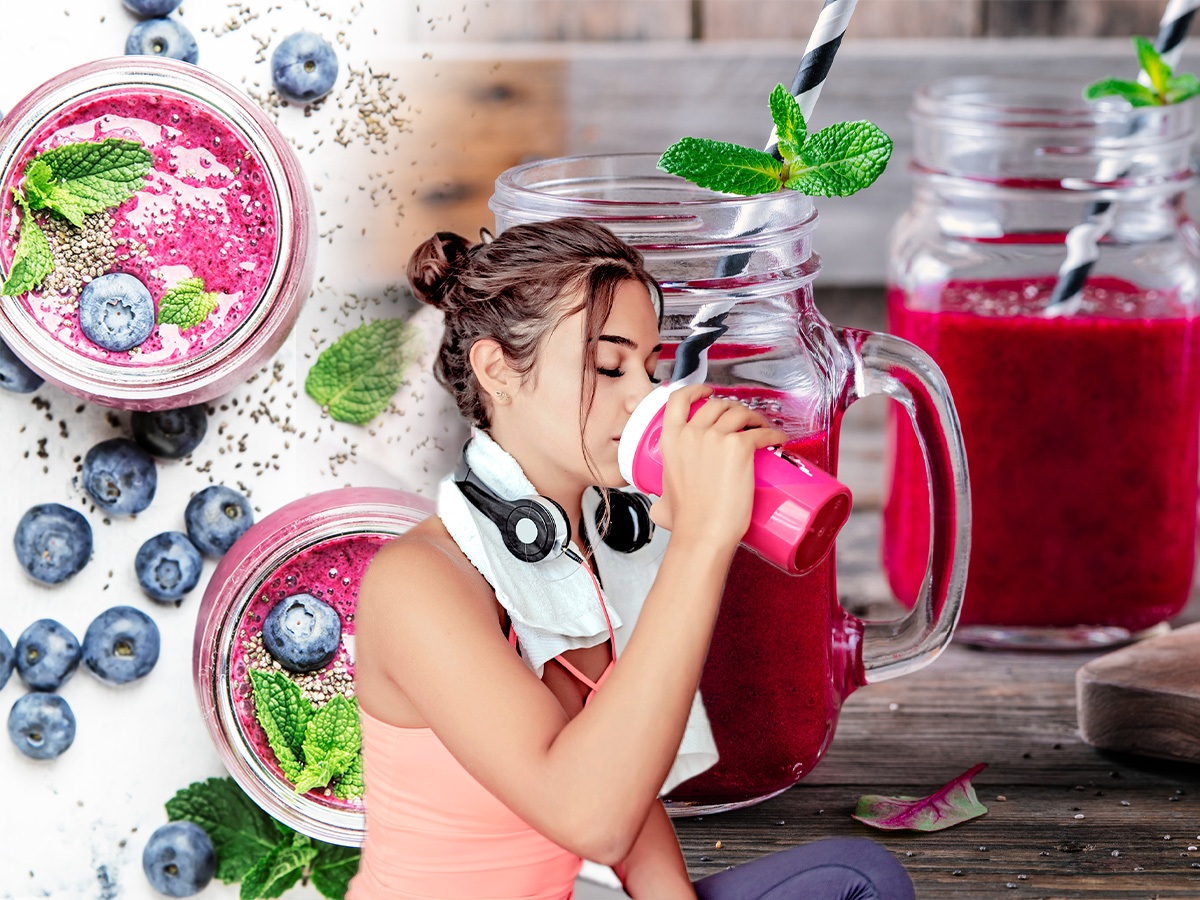 Πριν τη γυμναστική: Τα ανοιξιάτικα smoothies που θα σε γεμίσουν με ενέργεια