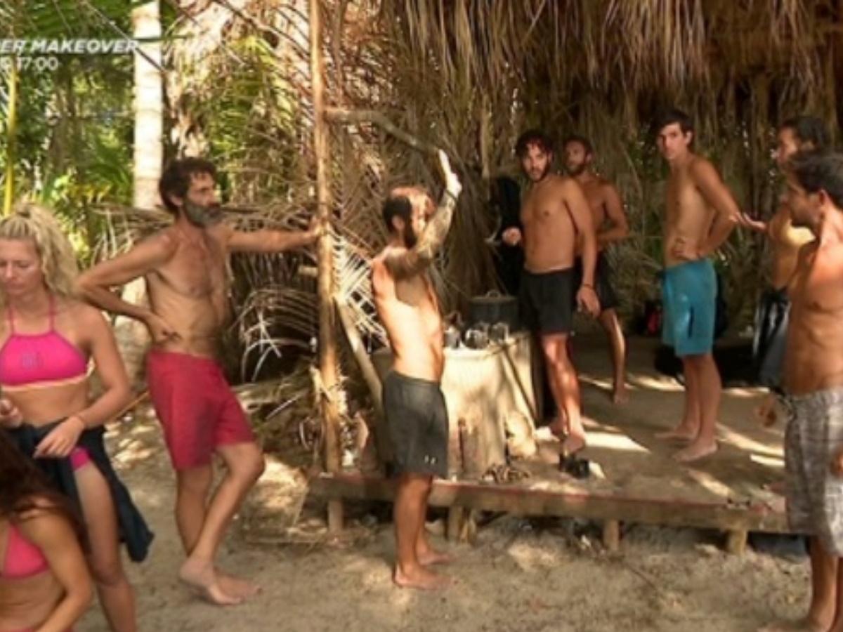 Survivor: Ένταση στην κόκκινη ομάδα για την παραπάνω ποσότητα φαγητού που ζήτησε ο Γιώργος Κοψιδάς