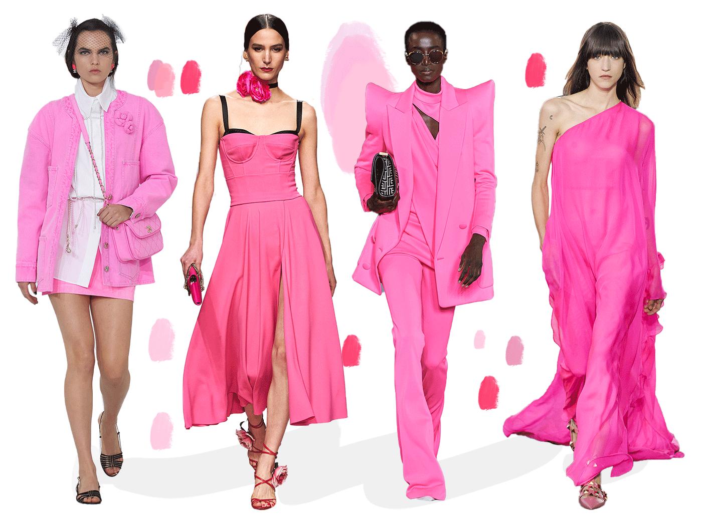 Ροζ: To χρώμα που κυριαρχεί στις καλοκαιρινές τάσεις