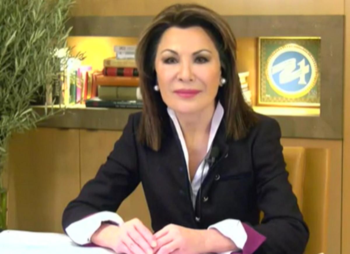 """Γιάννα Αγγελοπούλου στο Live News: Η """"επιτροπή 2021"""" δωρίζει στο ΕΣΥ, 18 κλίνες ΜΕΘ"""