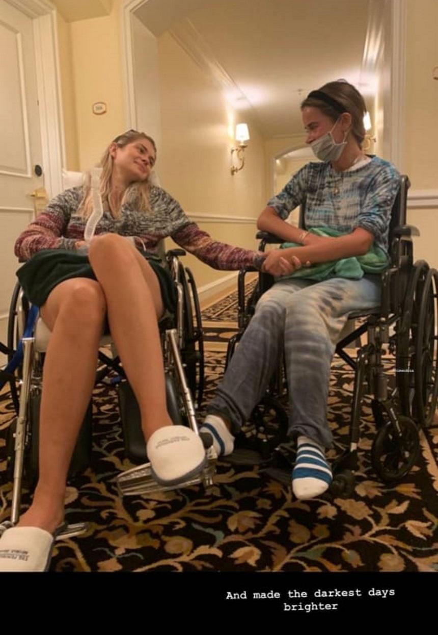 Αμαλία Κωστοπούλου: Η φωτογραφία σε αναπηρικό καροτσάκι, μετά το τροχαίο το περασμένο καλοκαίρι