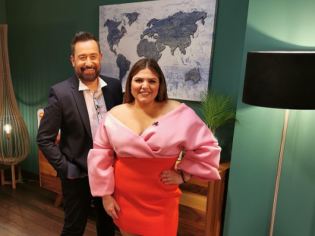 """Δανάη Μπάρκα: """"Το μέγεθος μετράει γι' αυτό πήρα εκπομπή"""" – Η ιστορία από το σύντομο χωρισμό και η σχέση με τον σύντροφό της σήμερα"""