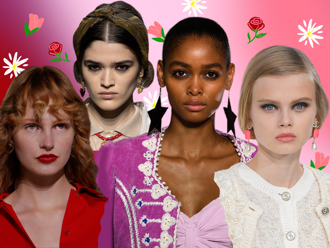 Spring has sprung! 9 ανοιξιάτικα beauty looks κατευθείαν από τις πασαρέλες