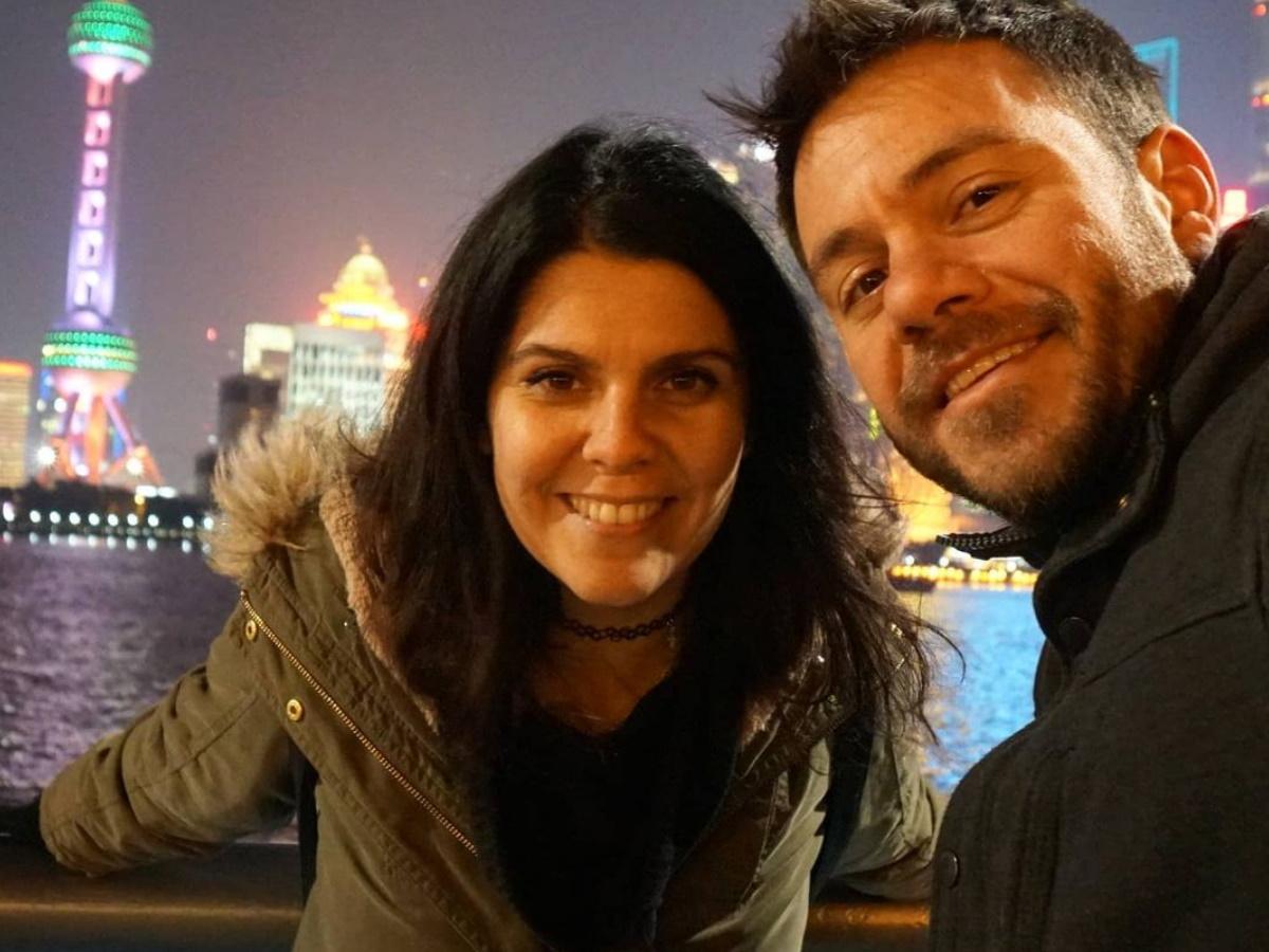 Ευτύχης Μπλέτσας: Η σύζυγός του ποζάρει για πρώτη φορά με φουσκωμένη κοιλίτσα