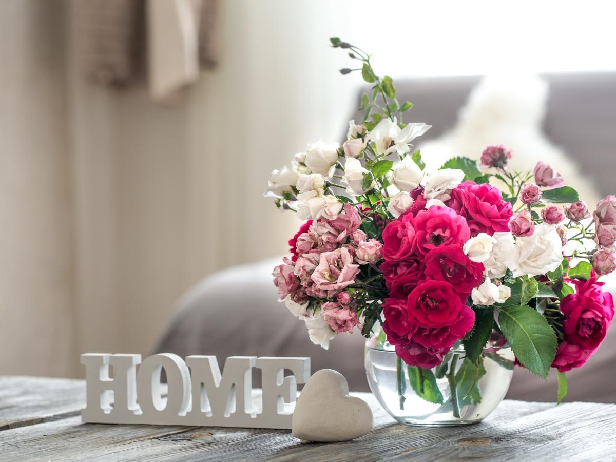 Λουλούδια: Φέρε την άνοιξη στο σπίτι σου