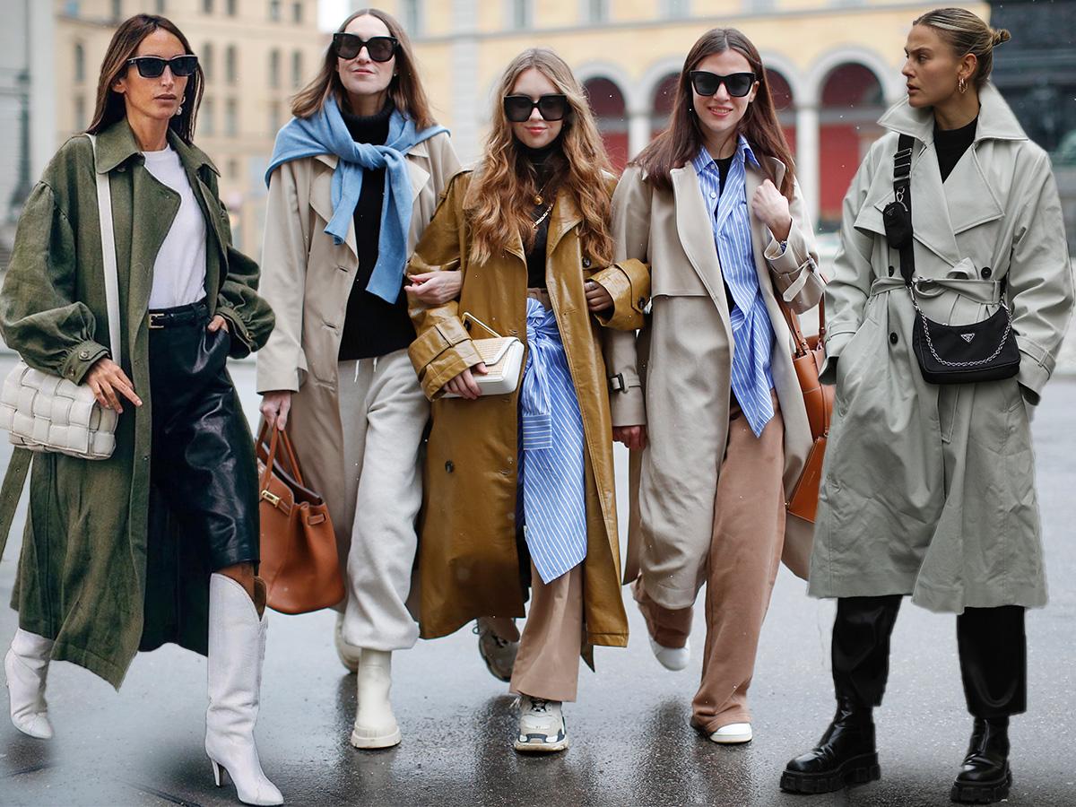 Καμπαρντίνα: Φόρεσε την σαν μία fashionista