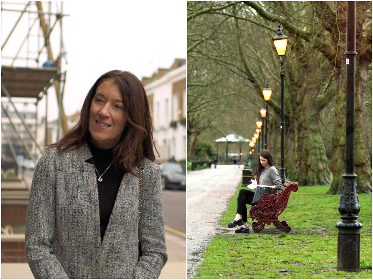"""Βικτόρια Χίσλοπ: Ολοκληρώθηκαν στο Λονδίνο τα πρώτα γυρίσματα του σήριαλ """"Καρτ – ποστάλ"""""""
