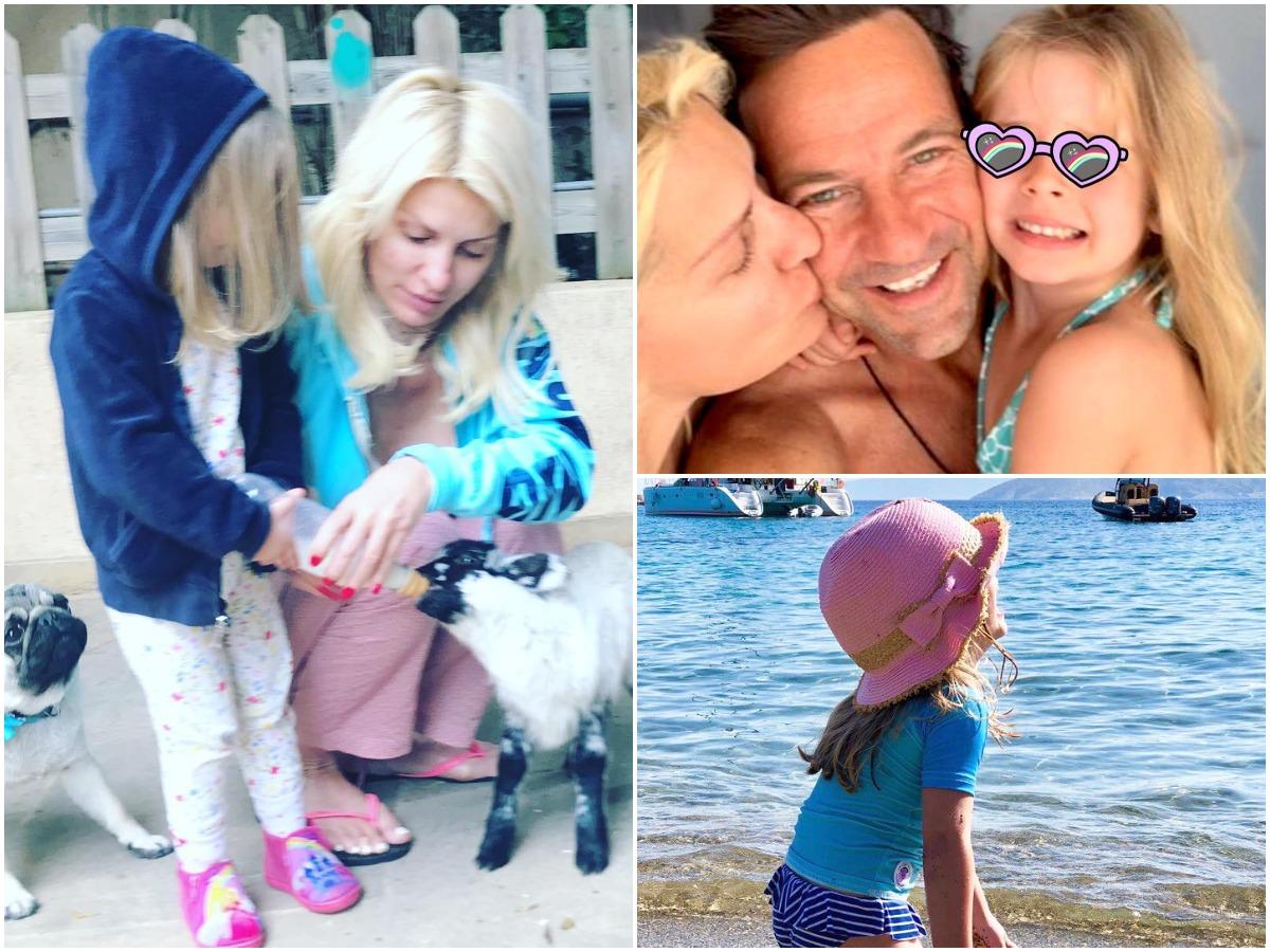 Ελένη Μενεγάκη – Μάκης Παντζόπουλος: Η κόρη τους γίνεται 6 χρονών! Οι πιο τρυφερές φωτογραφίες με την παρουσιάστρια