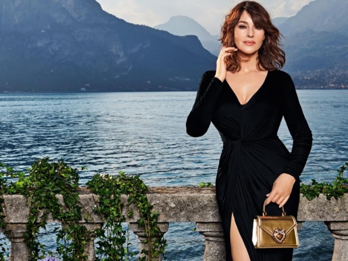 Ο Μonica Bellucci φωτογραφίζεται με τα πιο ωραία μαύρα φορέματα της σεζόν
