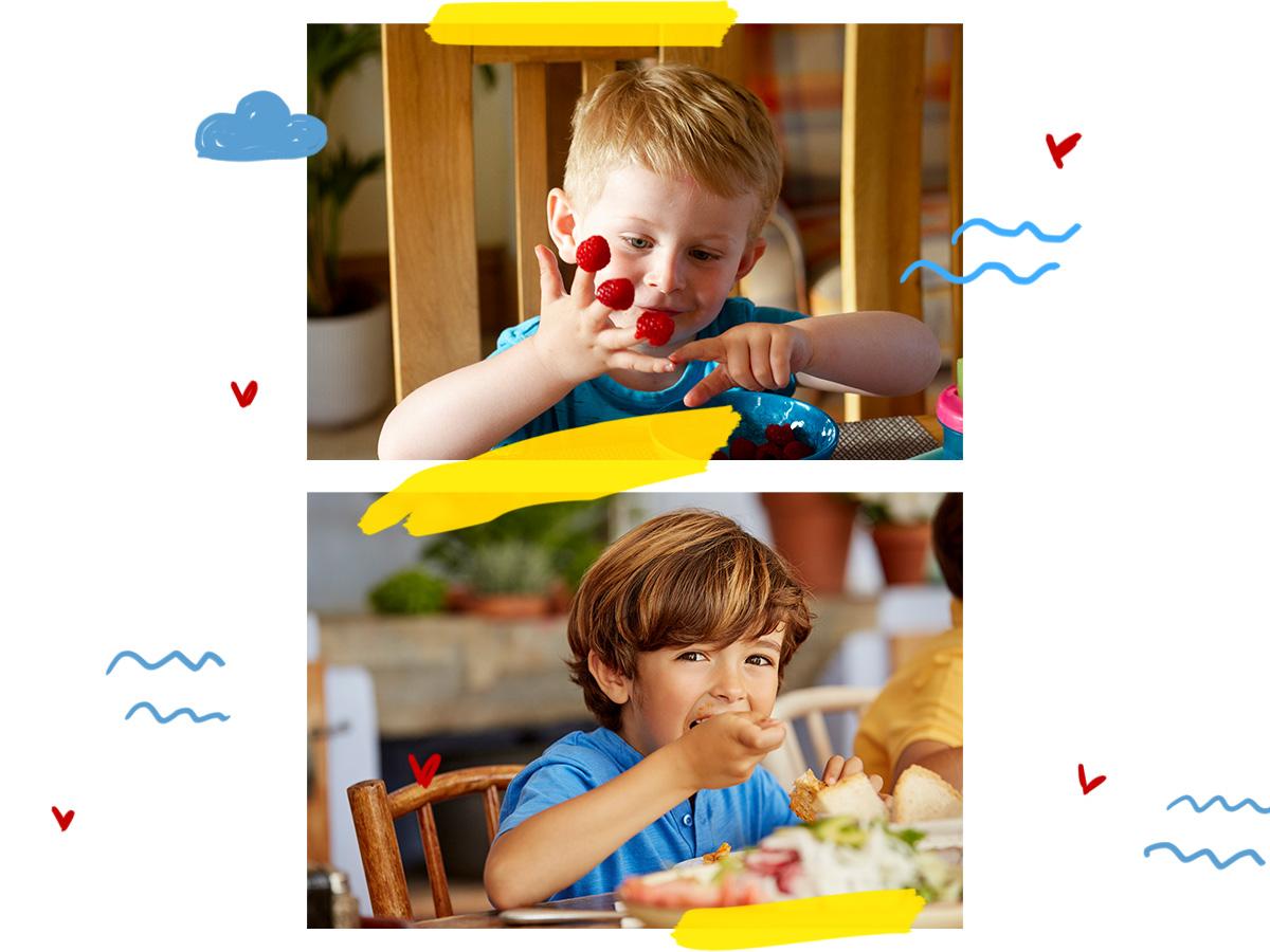 Παιδική διατροφή: Έξυπνοι τρόποι για να αγαπήσει το μικρό σου όλες τις τροφές (και όχι μόνο τα γλυκά)
