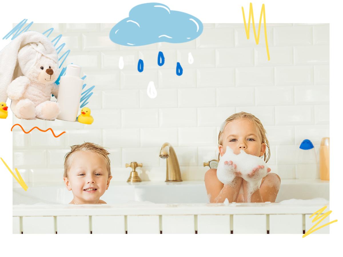Παιδί και μπάνιο: Πρακτικές συμβουλές για να αποφύγεις τα ατυχήματα