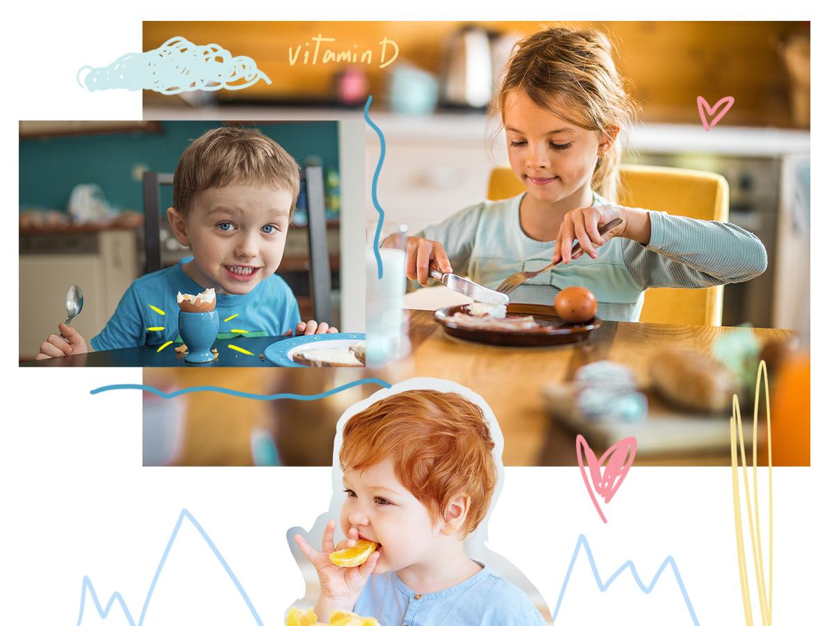 Βιταμίνη D: Ο σημαντικός της ρόλος στην ανάπτυξη του παιδιού
