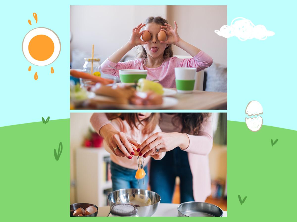 Αβγά: Πώς πρέπει να τα μαγειρεύεις ώστε να είναι ασφαλή για τα παιδιά