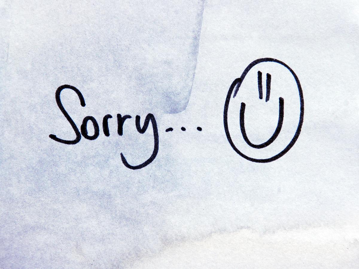Συγγνώμη ζητάνε οι δυνατοί, όχι οι εγωκεντρικοί