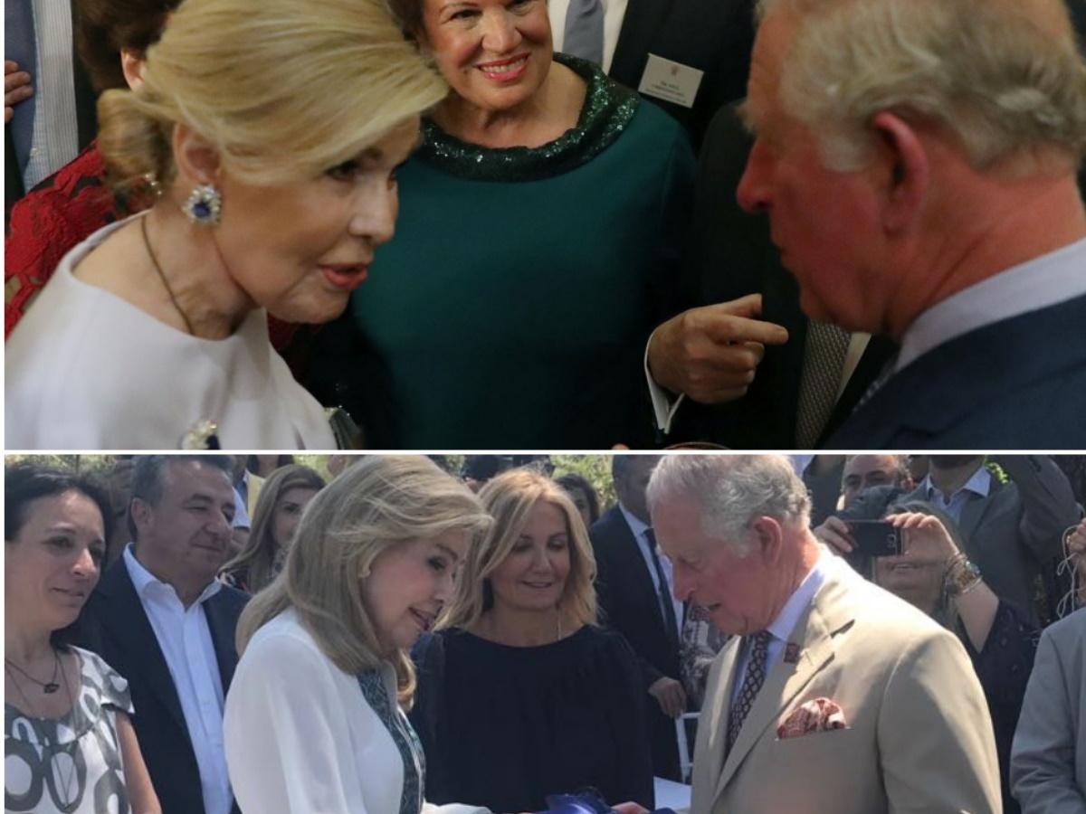 Πρίγκιπας Κάρολος – Μαριάννα Βαρδινογιάννη: Μια στενή φιλία και μια ουσιαστική συνεργασία ετών