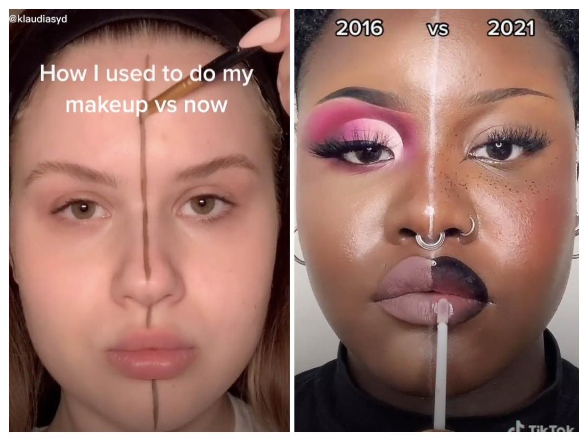 Από το 2016 μέχρι σήμερα έχουν περάσει μόλις πέντε χρόνια κι όμως το μακιγιάζ μας είναι πολύ διαφορετικό