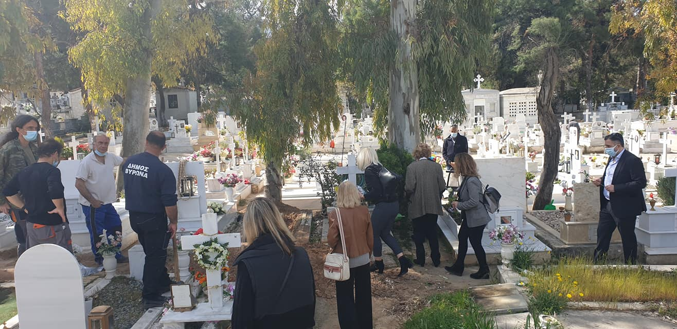 Έννυ Μαγιάση: Έγινε το πρωί η κηδεία της – Συγκλονίζει ο φίλος της Φάνης Καραμπατσάκης για τις τελευταίες της στιγμές