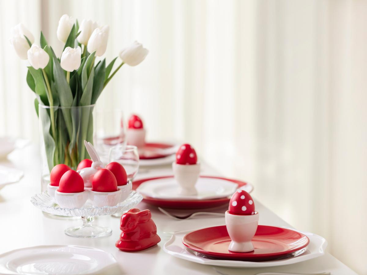 Ιδέες για να στρώσεις ένα stylish πασχαλινό τραπέζι