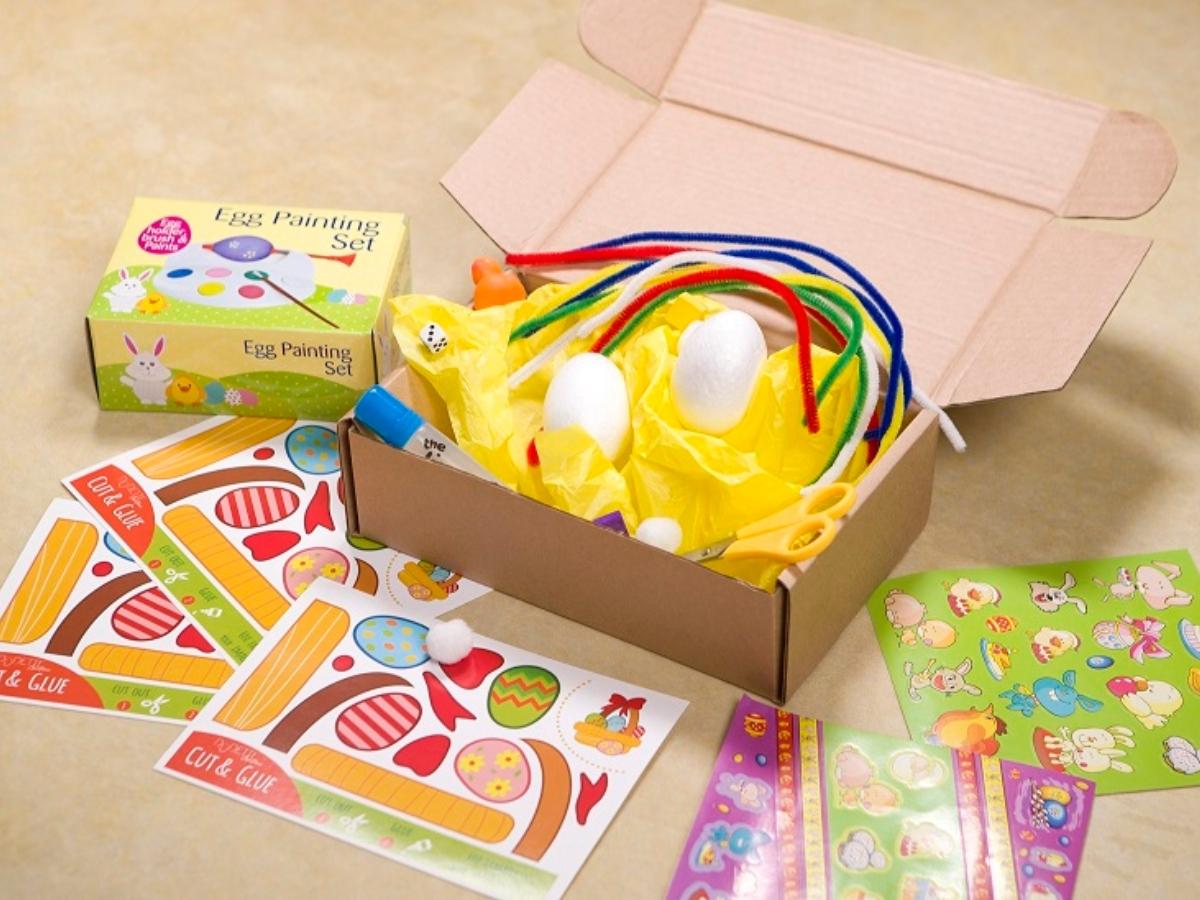 The Easter Box by Dudettes: Ένα πασχαλινό κουτί που θα ξετρελάνει τους μικρούς μας φίλους