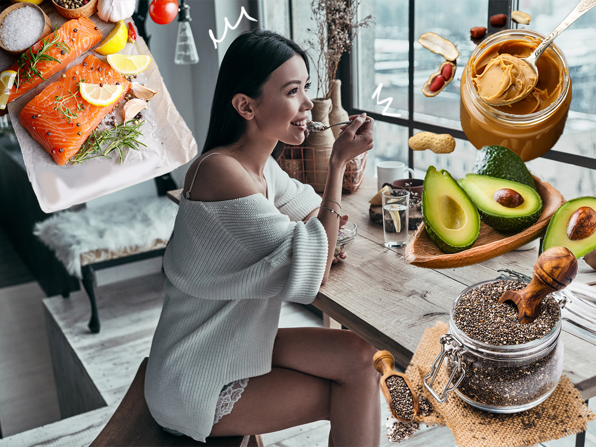 Αδυνάτισμα: 8 τροφές με καλά λιπαρά που δεν πρέπει να λείπουν από το μενού σου