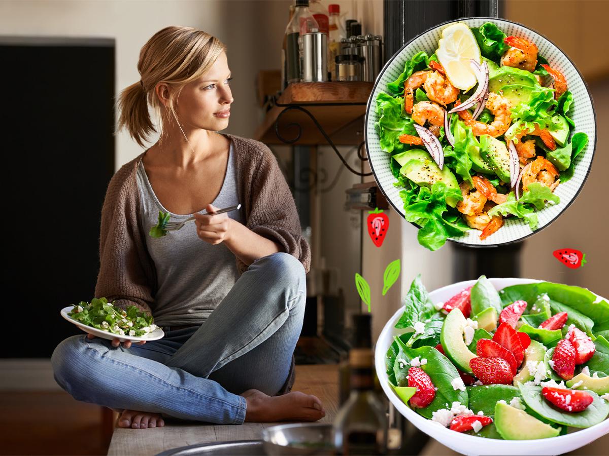 Light συνταγές: 5 ανοιξιάτικες σαλάτες με λίγες θερμίδες αλλά πολλή γεύση