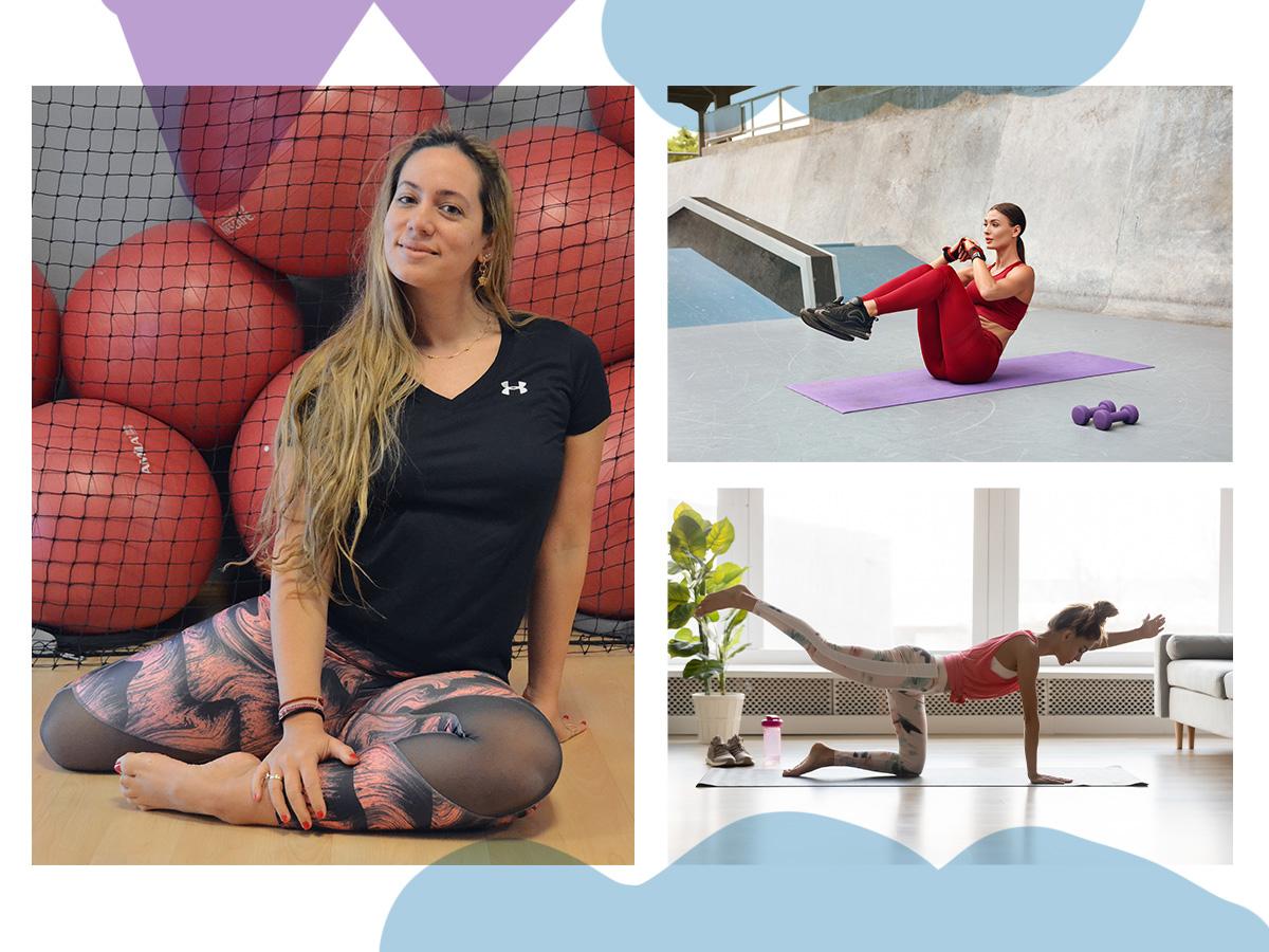 Γυμναστική στο σπίτι: 5 ασκήσεις για όλο το σώμα που θα σε αδυνατίσουν