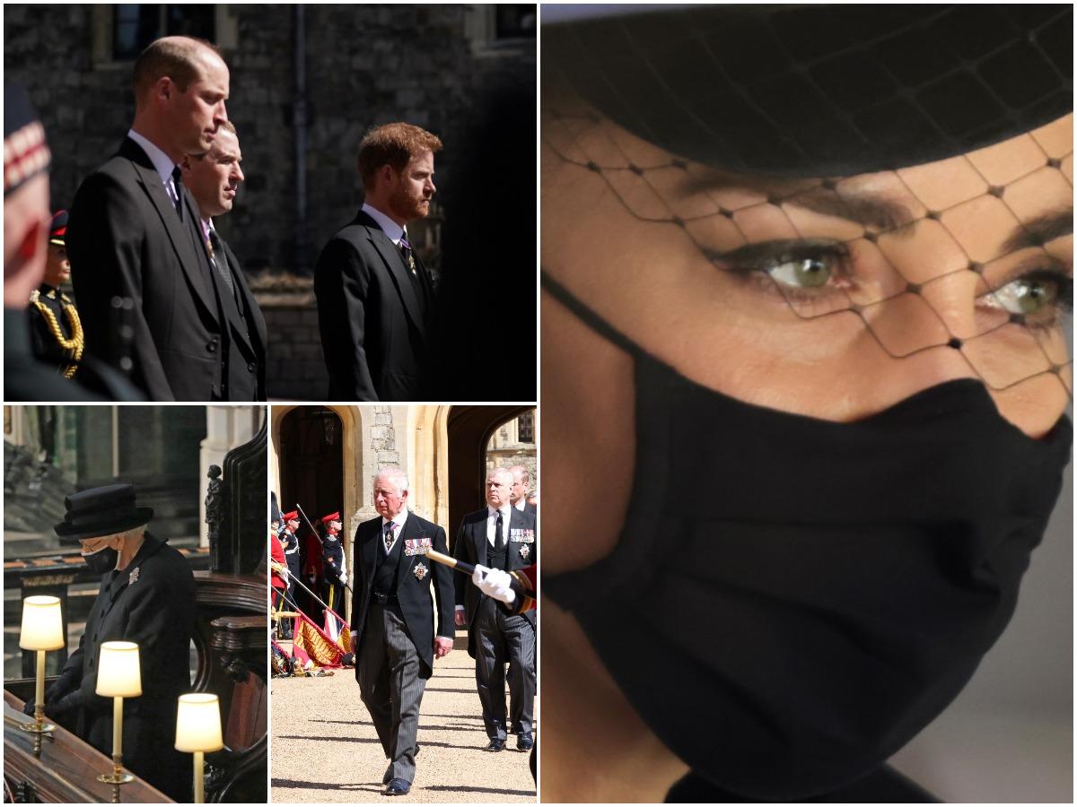 Πρίγκιπας Φίλιππος: 10 συγκινητικές στιγμές που δεν είδες από την κηδεία του Δούκα του Εδιμβούργου – Φωτογραφίες