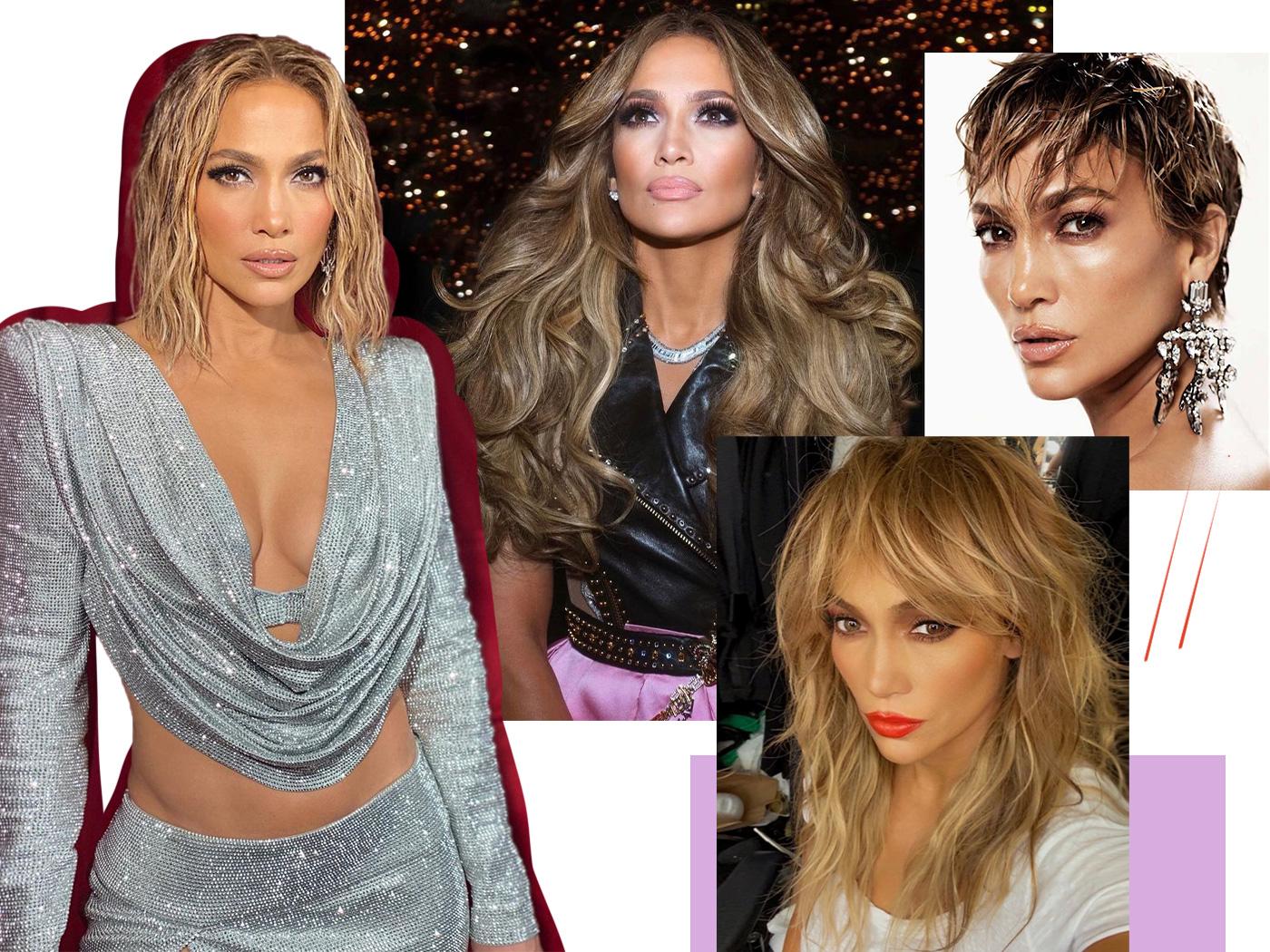 Jennifer Lopez: δέκα φορές που ζηλέψαμε τα μαλλιά της