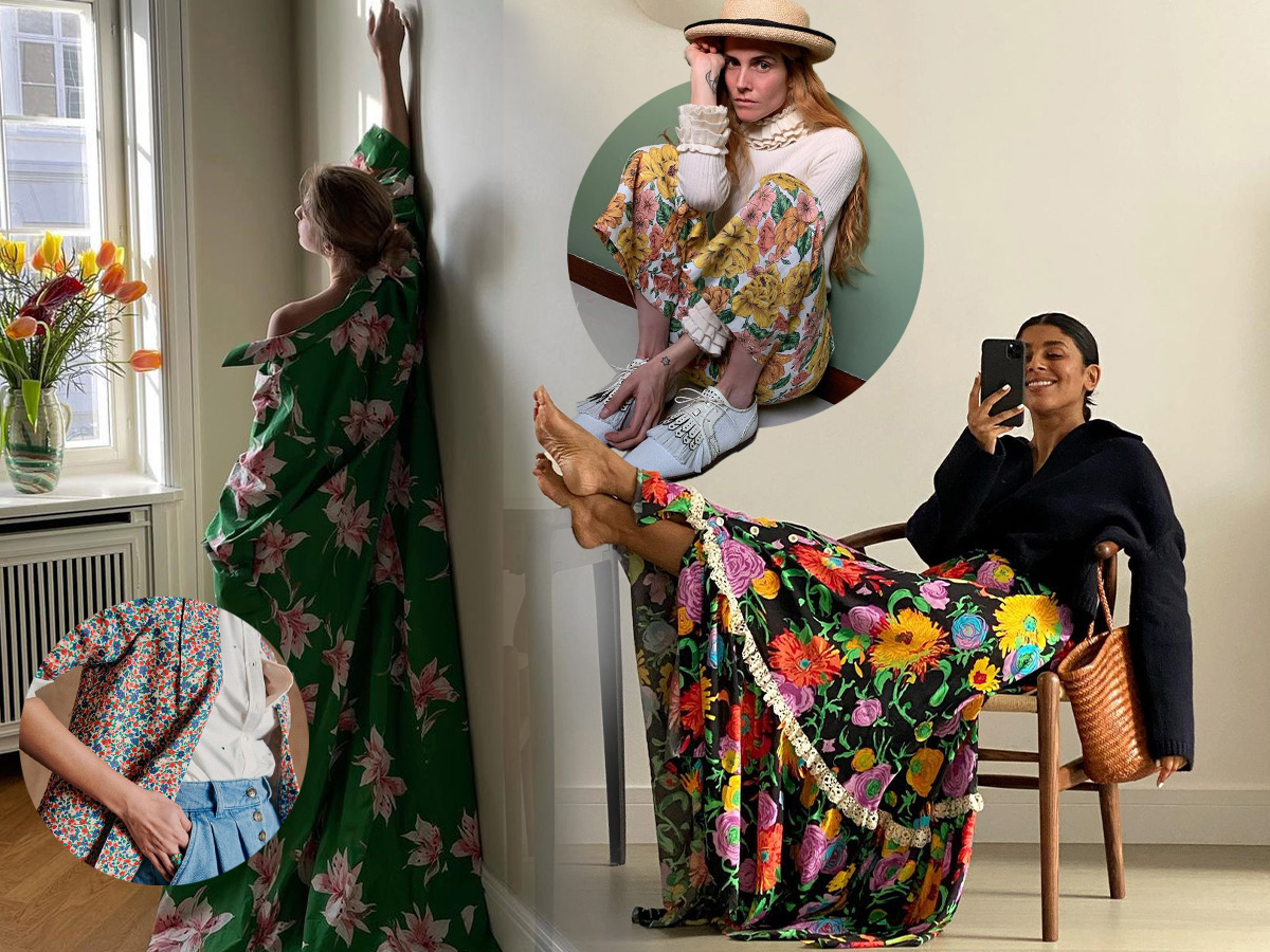 Floral: Πως θα φορέσεις με στιλ την πιο όμορφη τάση της εποχής