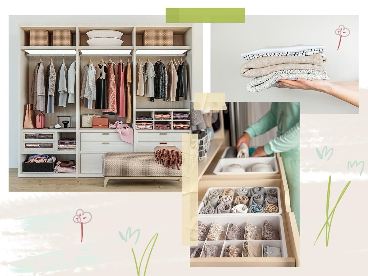Ήρθε η ώρα να οργανώσεις επιτέλους σωστά την ντουλάπα σου! Αυτά είναι τα βήματα που πρέπει να ακολουθήσεις